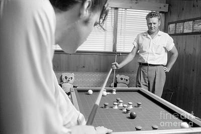 Elvis Presley Photograph - Elvis Presley With His Father Vernon 1956 by The Phillip Harrington Collection