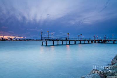 San Diego Embarcadero Park Photograph - Embarcadero Sunset by Laarni Montano