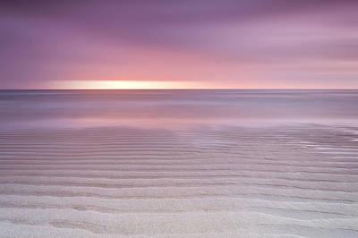Dunstanburgh Photograph - Embleton Bay Ripples by Chris Frost