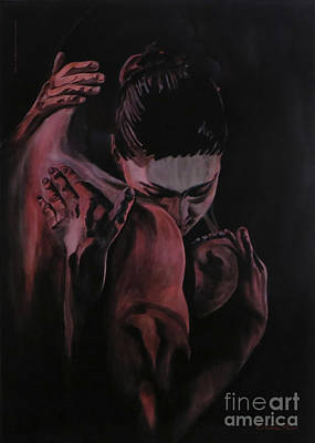Elisabetta Artusi Painting - Embrace by Betta Artusi