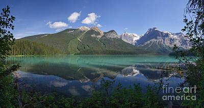 Wildlife Photograph - Emerald Lake Panorama by Charles Kozierok