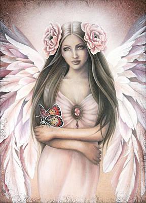 Angel Art Painting - Emergence by Jessica Galbreth