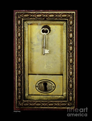 Jack Nicholson Photograph - Emergency Elevator Key 1906 by Cheryl Young