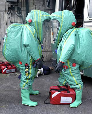 Terrorism Photograph - Emergency Ventilation by Public Health England