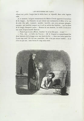 Edition Photograph - Emerging From A Cellar by British Library