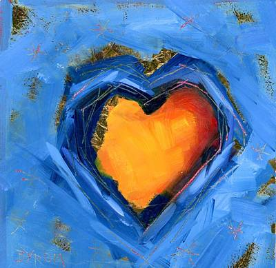 Painting - Emerging Love by Mary Byrom