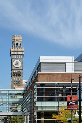 Clocks Photograph - Emerson Bromo-seltzer Tower by Susan Candelario