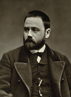 Celebrate Photograph - Emile Zola by Etienne Carjat