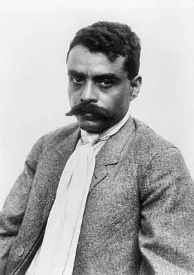 Emiliano Zapata (1879-1919) Print by Granger