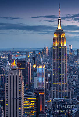 Skylines Photograph - Empire State by Marco Crupi