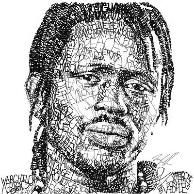 Emmanuel Jal Print by Michael  Volpicelli