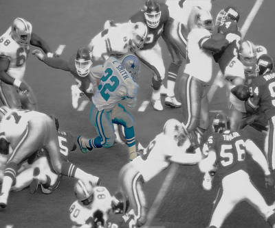 Emmitt Smith Print by Brian Reaves