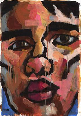 Drippy Painting - Emotion by Douglas Simonson