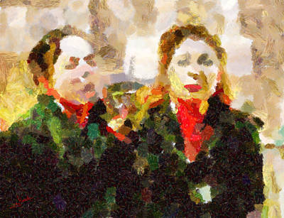 Impressionism Painting - Emotions by George Rossidis
