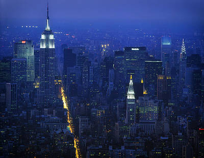 1980s Photograph - Empire State Building 1980s - New York City by Mountain Dreams
