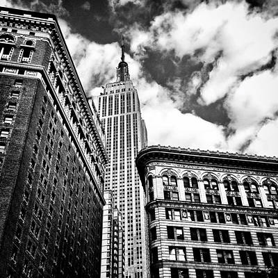 Vivienne Gucwa Photograph - Empire State Building And New York City Skyline by Vivienne Gucwa
