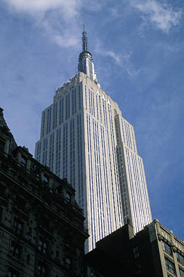 Empire State Photograph - Empire State Building by Jon Neidert