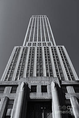Empire State Building Rising II Print by Clarence Holmes