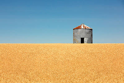 Granary Photograph - Empty Bin by Todd Klassy