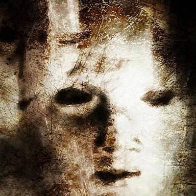 Mask Digital Art - Empty by Gun Legler