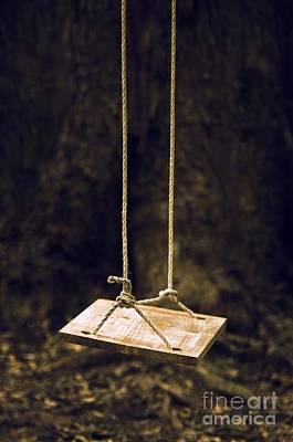 Empty Swing Print by Carlos Caetano