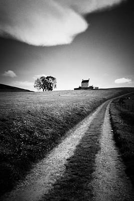 En Route To Corgarff Castle Print by Dave Bowman