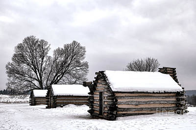 Snowy Photograph - Encampment by Olivier Le Queinec