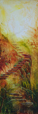 Enchanted Stairway Original by Amani Hanson