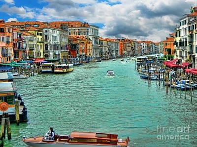 Enchanted Venice  Print by Mariola Bitner