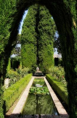 Spanish Landscape Photograph - Enchanting Spanish Garden by Mountain Dreams
