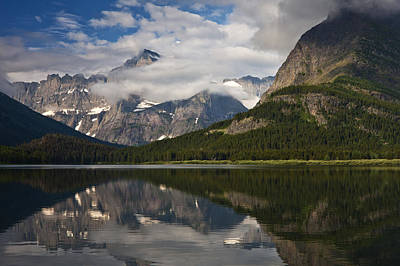 Fresh Air Photograph - Enchanting Swiftcurrent by Mark Kiver