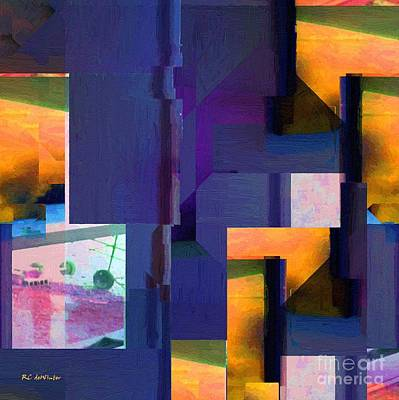 Encroachment Print by RC DeWinter