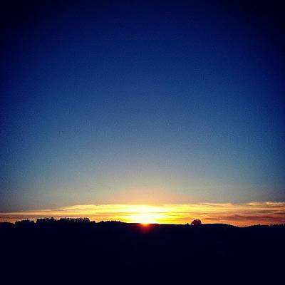 Sun Photograph - End Of Day by CML Brown