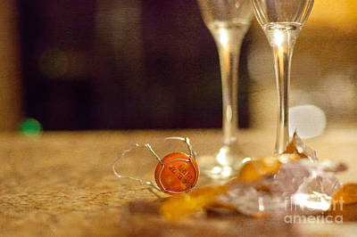 Sparkling Wines Photograph - End Of The Celebration by Kay Pickens