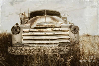 End Of The Road Print by Alison Sherrow