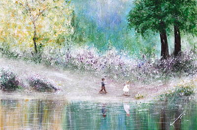 Beauty In Nature Painting - Endless Day by Kume Bryant
