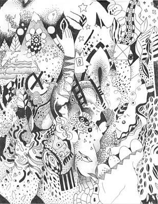 Endless Desire Print by Helena Tiainen