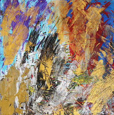 Copper Color Painting - Endless Possibilities by Thomas Bryant