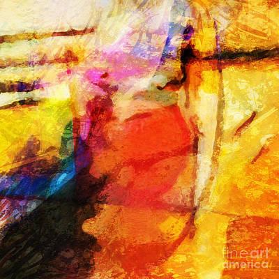 Hypnotic Painting - Energy by Lutz Baar