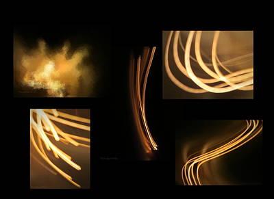 Friendly Digital Art - Energy The Gift Of Light by Joyce Dickens