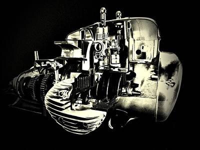 Engine Print by Gabi Siebenhuehner