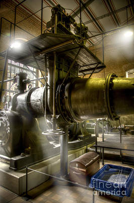 Technical Photograph - Engine Room by Heiko Koehrer-Wagner