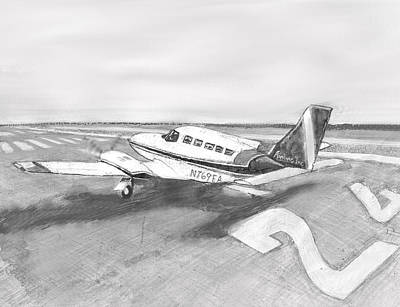 Airliners Mixed Media - Engines To Full by Jon Castillo