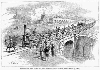 England Railway, 1825 Print by Granger