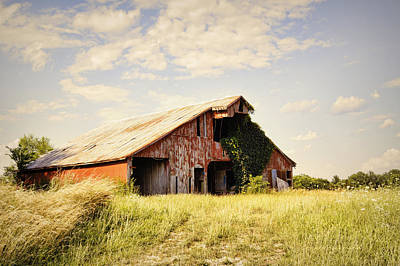 Englewood Barn Print by Cricket Hackmann