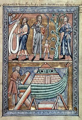 English Psalter, C1215 Print by Granger
