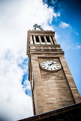 Watch Tower Photograph - Clock Tower by Parker Cunningham