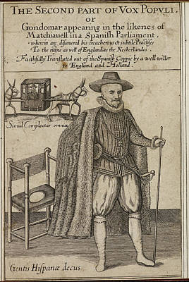 Portaits Photograph - Engraved Title Page by British Library