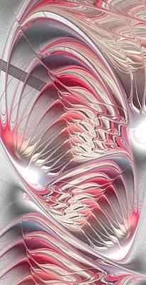 Fractal Digital Art - Enigma by Anastasiya Malakhova