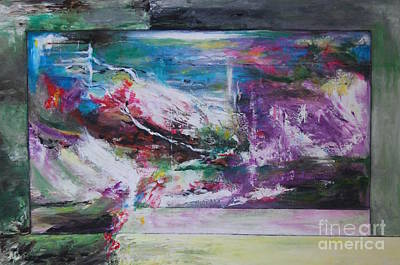 Abstract Painting - Enigma by Josie Duff